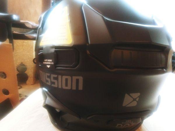 Mission Snowmobile Helmet