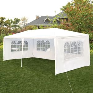 10'x 20' Canopy Outdoor Gazebo Party Tent w/ 4 Side Walls Wedding Canopy Cater Events for Sale in Glendale, CA