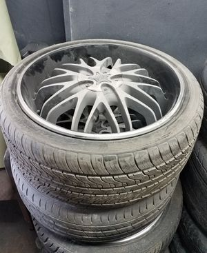 Rims and tires 245/35/20 for Sale in Decatur, GA