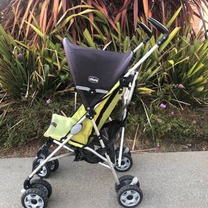 Chicco C6 Stroller, Green/Black for Sale in San Mateo, CA