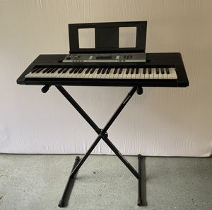 Yamaha Keyboard and Stand for Sale in Cumming, GA