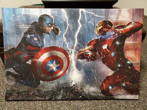 Captain America VS Ironman for Sale in Cuyahoga Falls, OH