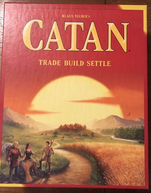 Settlers of Catan Board Game for Sale in Seattle, WA