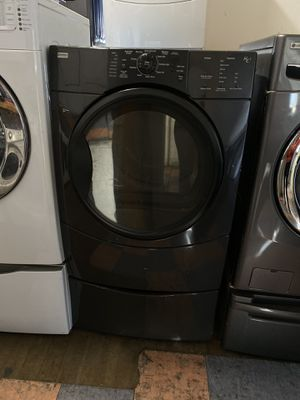 Kenmore gas dryer with pedestal for Sale in Newport Beach, CA