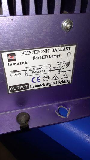 Lumatek 600w electronic ballast for Sale in San Bernardino, CA
