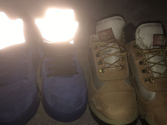 Jordan 5 And Timberland Boots For 130 for Sale in Camden,  NJ