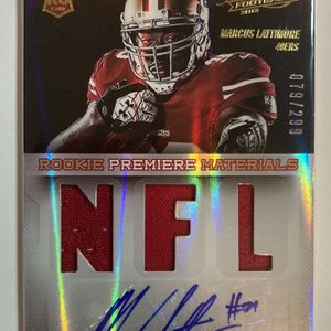2013 Panini Absolute Marcus Lattimore Premiere Materials Rookie RPA /299 for Sale in Los Angeles, CA