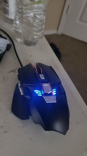 Programmable 7 button gaming mouse. for Sale in Abilene, TX