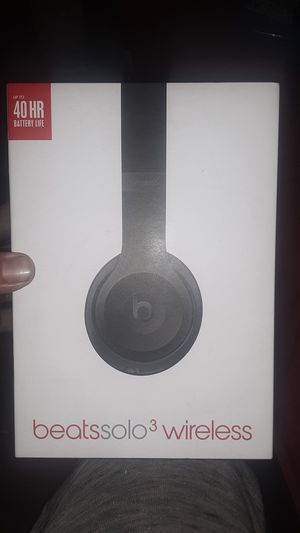 Dr.Dre Beats Solo 3 Wireless Headphones for Sale in Paramount, CA