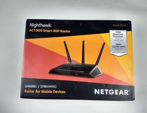NETGEAR Nighthawk AC1900 Smart WiFi Router – Dual Band Gigabit (R6900-100NAS) for Sale in River Grove, IL