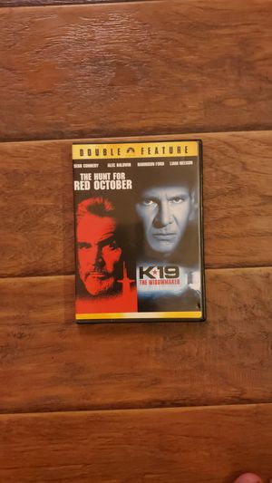 DVD - The Hunt For Red October + K19 Widowmaker for Sale in San Clemente, CA