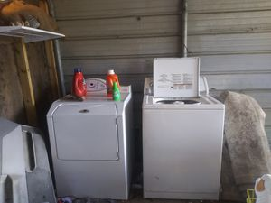 Washer and dryer for Sale in Plant City, FL