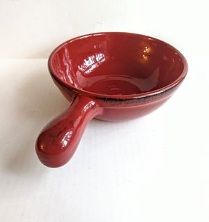 Glazed Terracotta Handled Bowl for Sale in Raleigh, NC