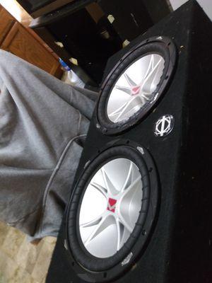 Cvr dual coil Kicker 12s in box for Sale in Toledo, OH