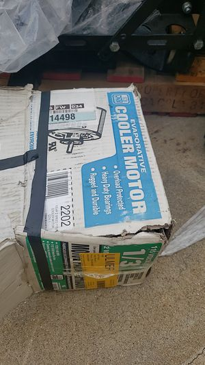 Cooler motor 1/3 hp for Sale in Claremont, CA