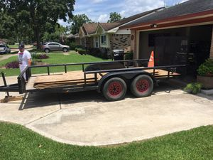 16 ft utility trailer NEED GONE ASAP for Sale in BROOKSIDE VL, TX