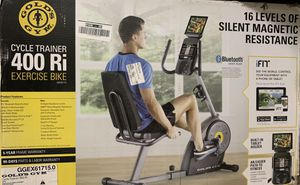 Gold's Gym Cycle Trainer 400 Ri Exercise Bike for Sale in Rancho Cucamonga, CA