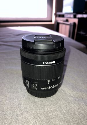 CANON 18-55 EF-S Kit Lens with IS for Sale in Murrieta, CA
