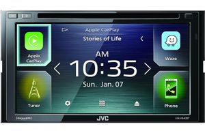 JVC KW-V840BT DVD CAR AUDIO APPLE CARPLAY ANDROID AUTO BLUETOOTH STEREO for Sale in San Diego, CA