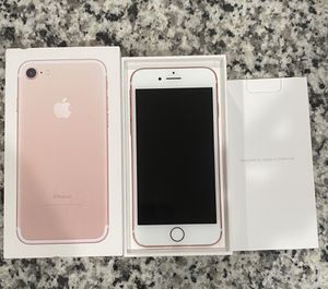 iPhone 7 Rose Gold for Sale in Morrisville, NC