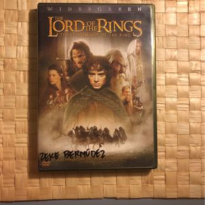 The Lord of the rings the Fellowship of the Ring. Movie DVD CD for Sale in Long Beach, CA