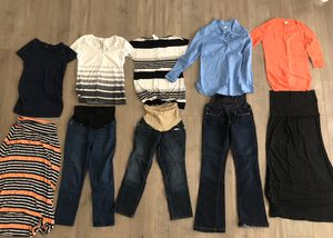 Maternity clothes pack size xs-m for Sale in SEATTLE, WA