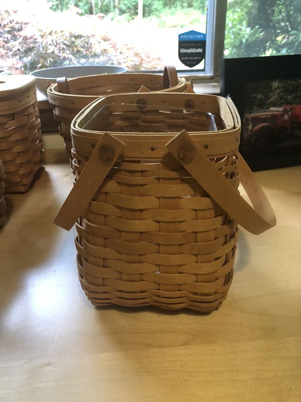 Longaberger Tiny Tote basket