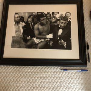 Muhammad Ali Framed Pic for Sale in Upper Marlboro, MD