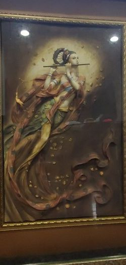 Musician Goddess Box Paint for Sale in Centreville,  VA