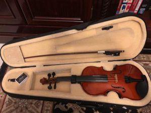 Cecilio 1/4 Size Violin with bow & Case and Rosin good condition for Sale in Davie, FL