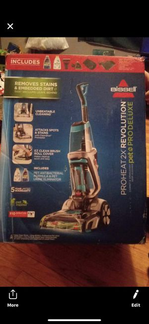 Bissell Brand new never used Bissell PROHEAT 2X Revolution Pet Pro. for Sale in Chicago, IL