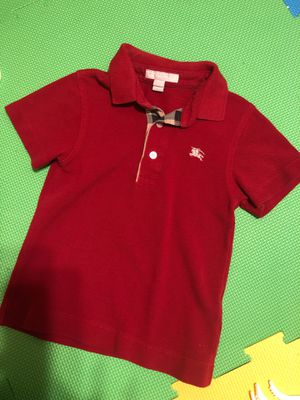 Burberry toddler shirt 4Y for Sale in Balch Springs, TX
