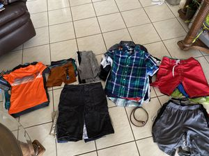 Boys clothes sizes 8 to 10T, books, dvd, toys for Sale in Fort Lauderdale, FL