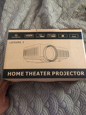 Vankyo leisure 3 video projector for Sale in Moreno Valley, CA