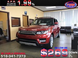 2014 Land Rover Range Rover Sport for Sale in Inwood, NY