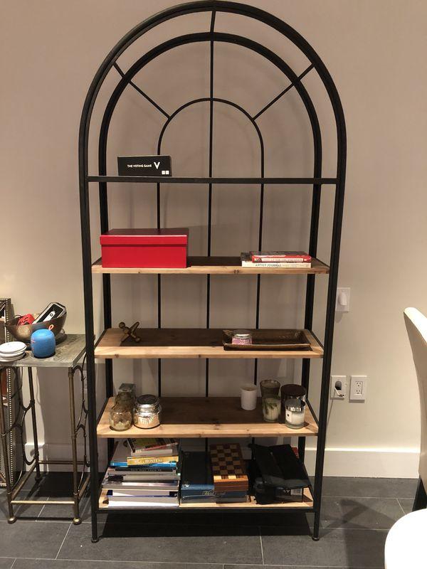 Arched Bookshelf