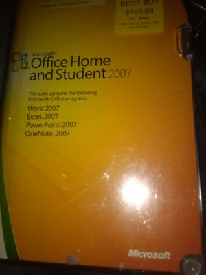 Microsoft Office Home and Student 2007 for Sale in Arvada, CO