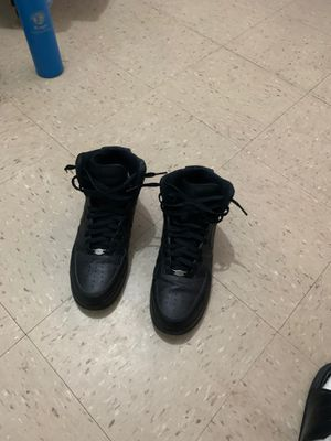 Air Force Black high top for Sale in The Bronx, NY