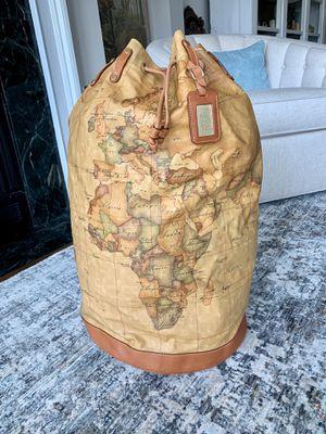 Italian Leather Shoulder Duffel Bag Luggage for Sale in Alexandria, VA