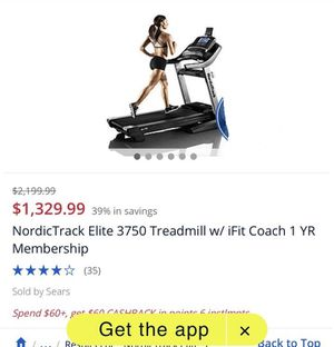 NordicTrack Elite Treadmill for Sale in Orange, CA