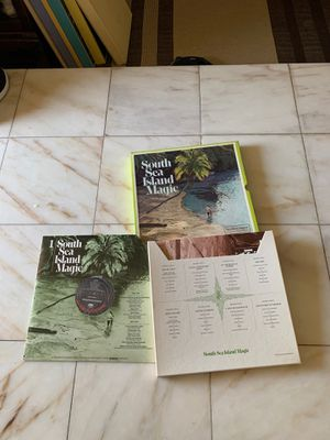 Reader's digest vinyl record box set of 4 lp south sea island magic for Sale in Yorba Linda, CA