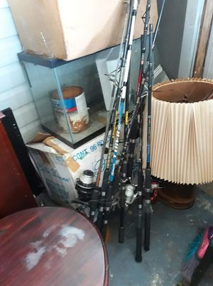 fishing rods for Sale in Pinellas Park, FL