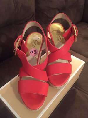 michael kors wedge sandals for Sale in Cameron, NC