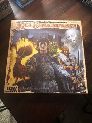 Kill Shakespeare Board Game for Sale in Austin, TX