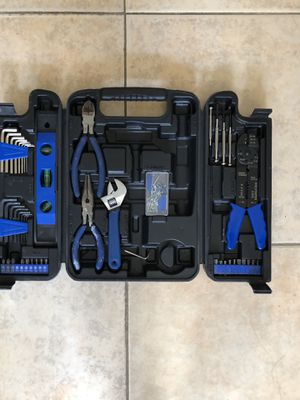 Tool box wrench plyer screwdriver for Sale in Brooklyn, NY