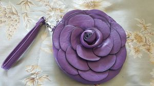 Purple rose purse for Sale in Philadelphia, PA