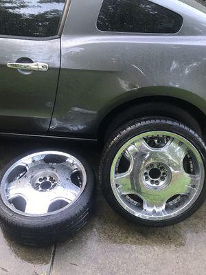 20inch Chrome rims for Sale in Atlanta, GA