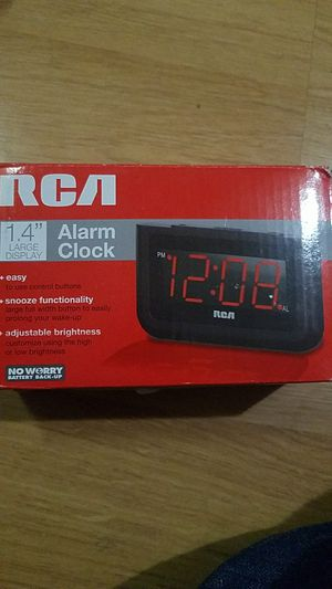 RAC 1.4 ALARM CLOCK NEW for Sale in Sterling Heights, MI