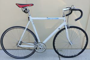"Cannondale Road Bike - 61cm Frame (24"") 700x23c Tires Road Bike + New Pedals for Sale in Kenmore, WA"