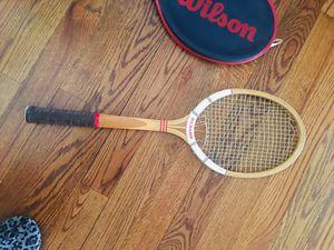 Vintage tennis racket for Sale in Forked River, NJ